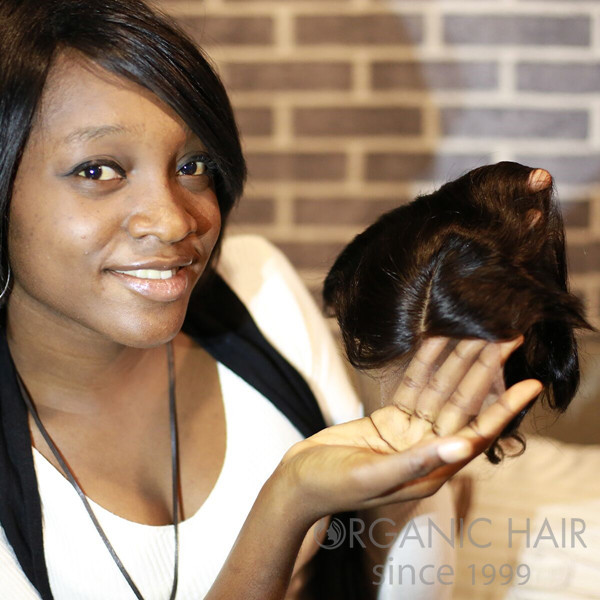 Virgin remy hair lace closure in USA hair shop