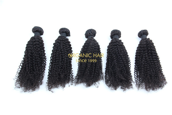Cheap curly human hair weave