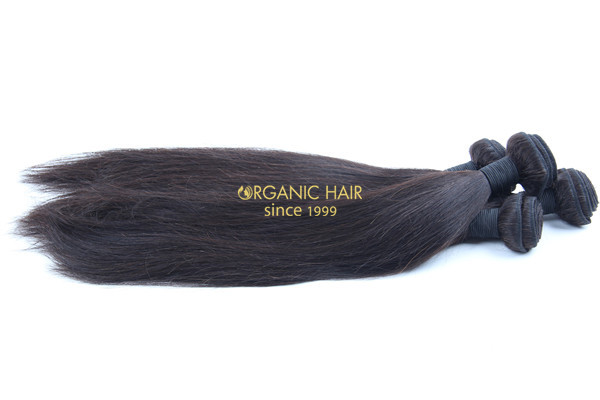 Cheap natural straight human hair extensions