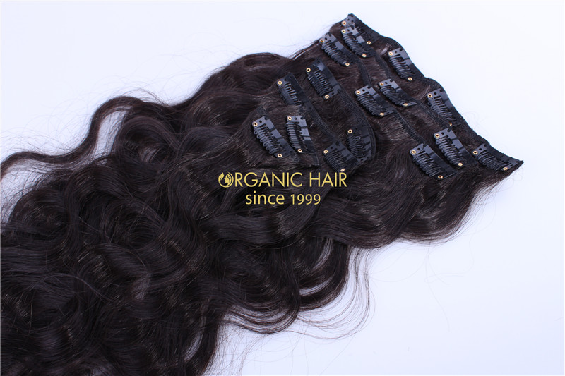 Full Cuticle Hair Remy Hair Extensions Clip In Australia Factory