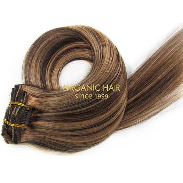 Great Length Soho Hair Clip In Human Hair Extensions P427 Factory