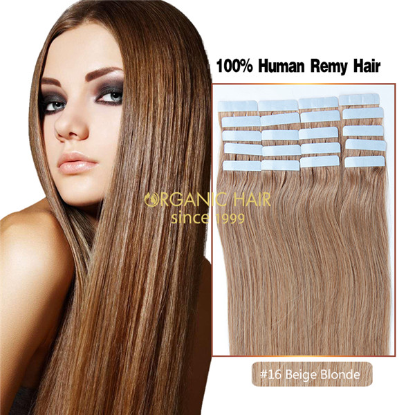 Human hair best tape in hair extensions cost