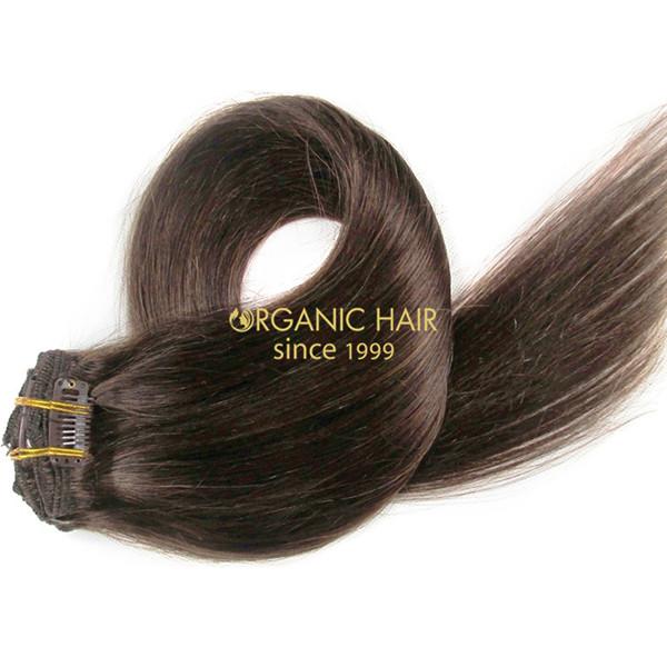 Kim Kardashian Hair Extensions Clip In Hair Pieces 4 Factory