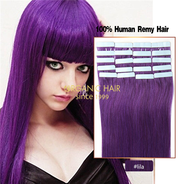 Tape in hair extensions china wholesale tape in hair extensions purple hair extensions tape hair extensions reviews pmusecretfo Images