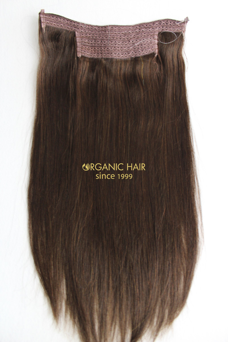Hot sale halo hair extensions for hair salon