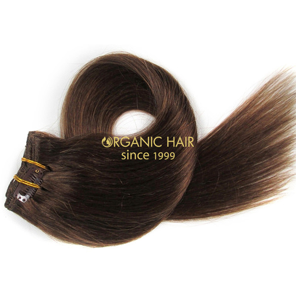Brazilian Remy Hair Clip In Extensions Cuticle Remy Xq 6 Factory