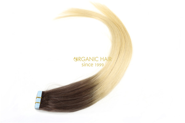 Human hair extensions tape on extensions Melbourne
