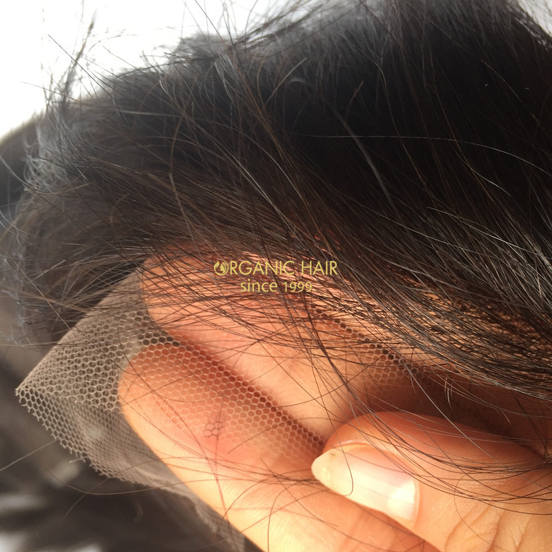 Invisible lace closure Left Part wholesale price
